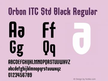 Orbon ITC Std Black