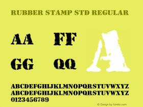 Rubber Stamp Std