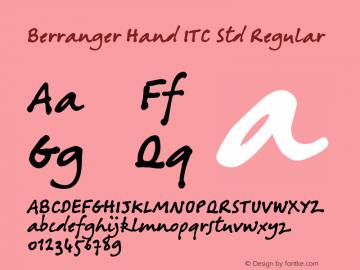 Berranger Hand ITC Std