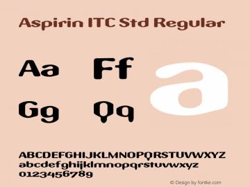 Aspirin ITC Std
