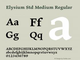 Elysium Std Medium