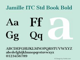 Jamille ITC Std Book