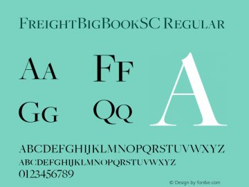 FreightBigBookSC