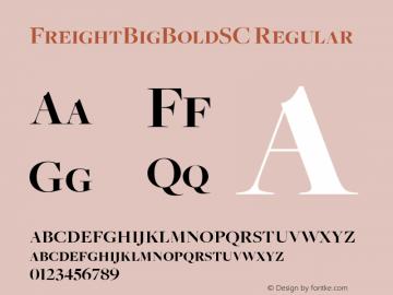 FreightBigBoldSC