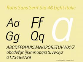 Rotis Sans Serif Std