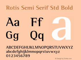 Rotis Semi Serif Std
