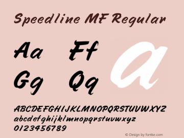 Speedline MF