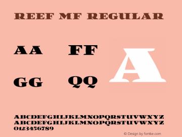 Reef MF