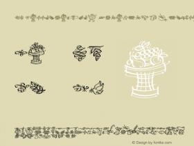 DF Calligraphic Ornaments