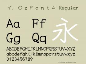 Y.OzFont4