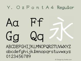 Y.OzFontA4