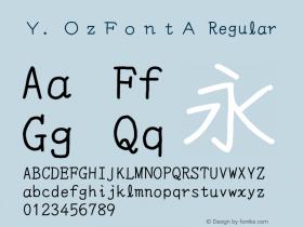 Y.OzFontA