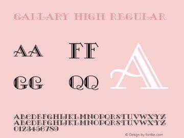 Gallary High