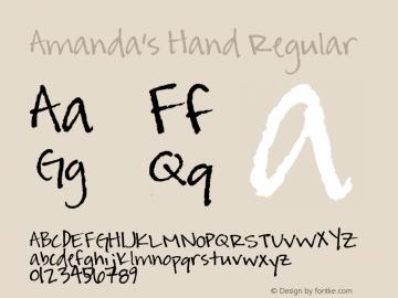 Amanda's Hand