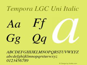 Tempora LGC Uni