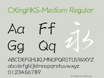 CXingHKS-Medium