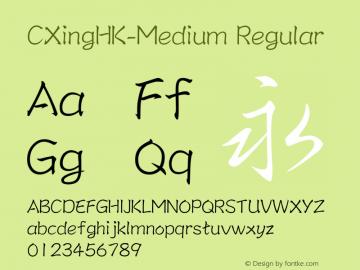 CXingHK-Medium