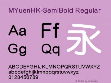 MYuenHK-SemiBold