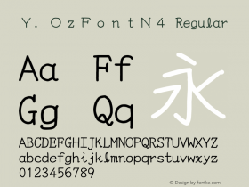 Y.OzFontN4