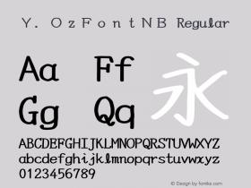 Y.OzFontNB