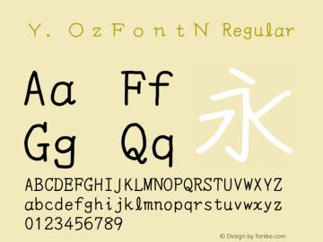 Y.OzFontN
