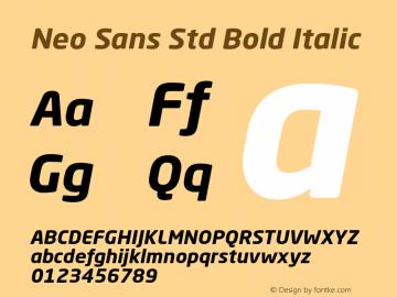 Neo Sans Std
