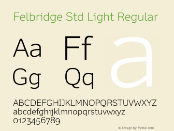 Felbridge Std Light