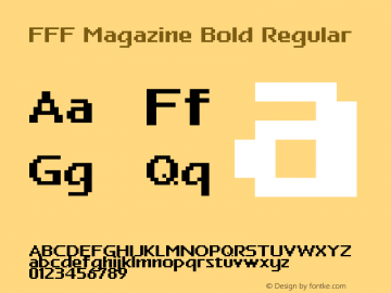 FFF Magazine Bold