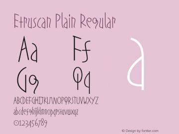 Etruscan Plain