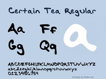Certain Tea