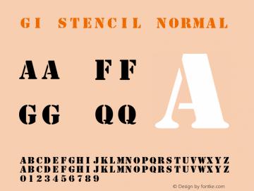GI Stencil