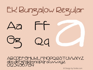 EK Bungalow