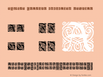 Ehmcke-Fraktur Initialen