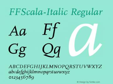 FFScala-Italic