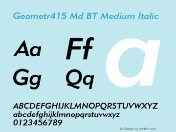 Geometr415 Md BT