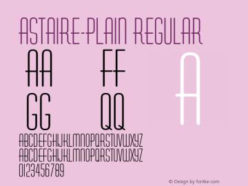 Astaire-Plain