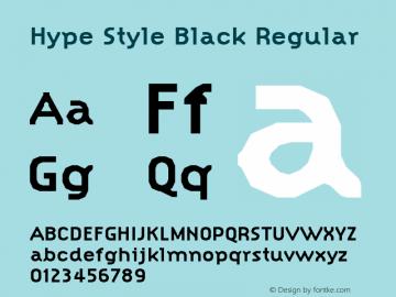 Hype Style Black