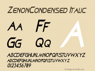 ZenonCondensed