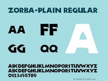 Zorba-Plain