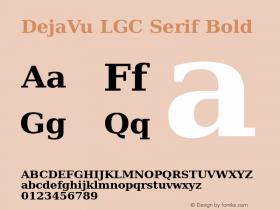 DejaVu LGC Serif