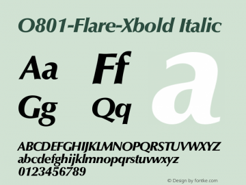 O801-Flare-Xbold