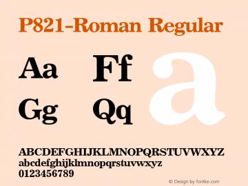 P821-Roman