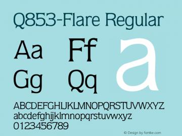 Q853-Flare