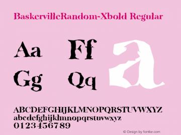 BaskervilleRandom-Xbold