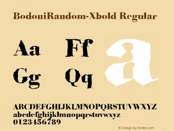 BodoniRandom-Xbold