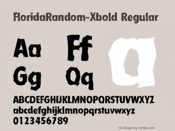FloridaRandom-Xbold