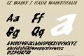 FZ WACKY 7 ITALIC