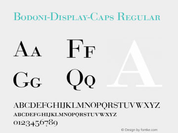 Bodoni-Display-Caps