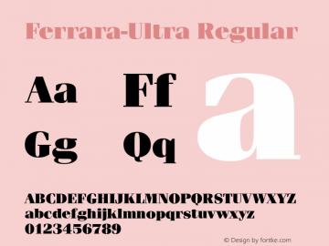 Ferrara-Ultra