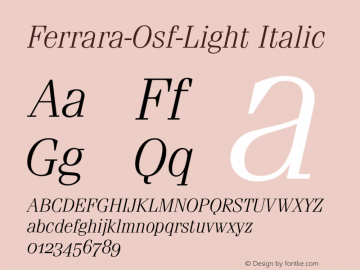 Ferrara-Osf-Light